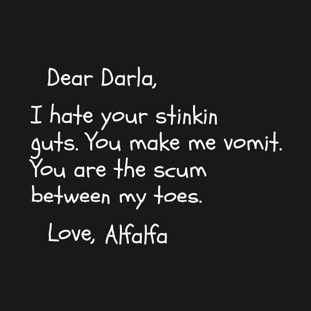The Little Rascals   Dear Darla Letter   The Little Rascals   T