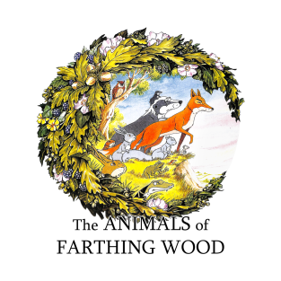 The Animals of Farthing Wood t-shirts