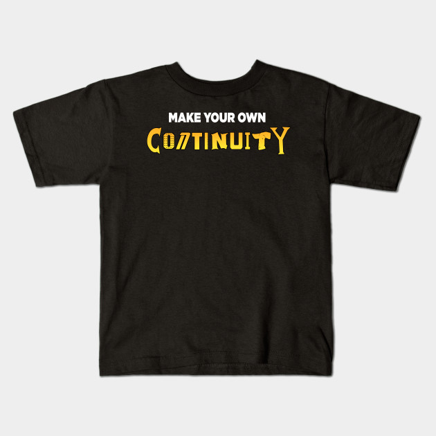 2cbab1574 Make Your Own Continuity T-Shirt (Orange Variant) - Geek History ...