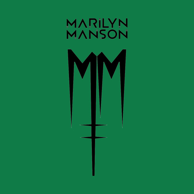 Marilyn Manson 2018 Tour M2 Derut Band Merchandise T Shirt