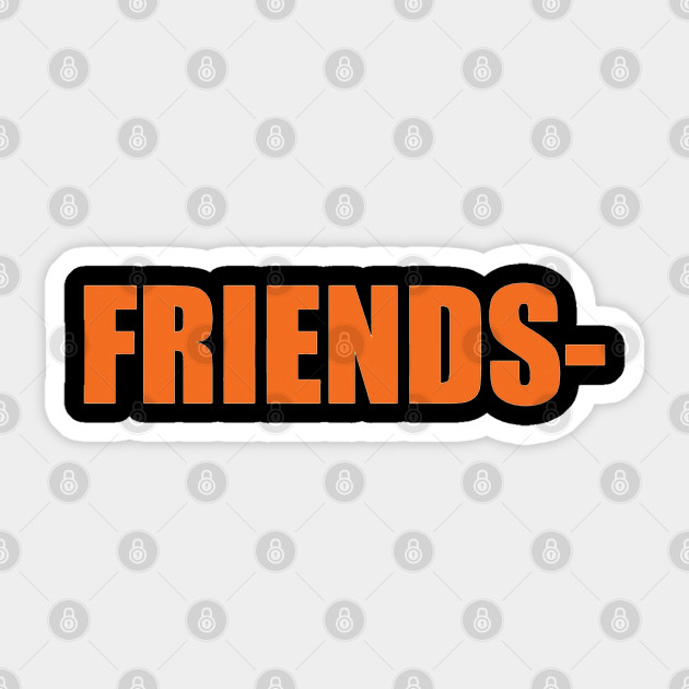 Vlone Friends Vlone Friends Unisex Sticker Teepublic Uk