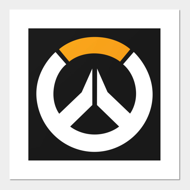 Overwatch Logo Overwatch Posters And Art Prints Teepublic