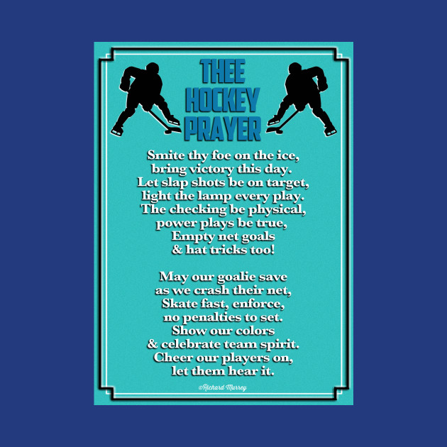 Thee Hockey Prayer