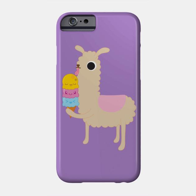 Llamas love Ice Cream