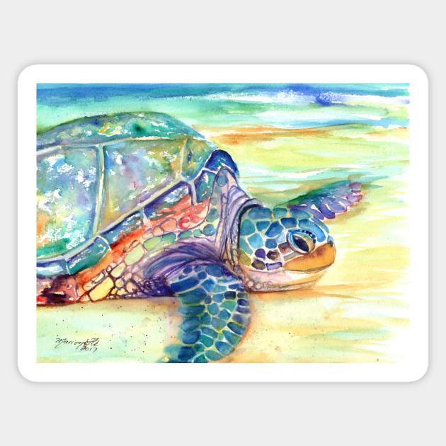 Sea Turtle 2 Sticker