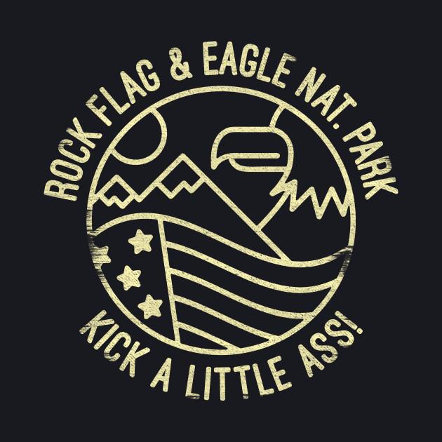 ROCK FLAG & EAGLE NATIONAL PARK
