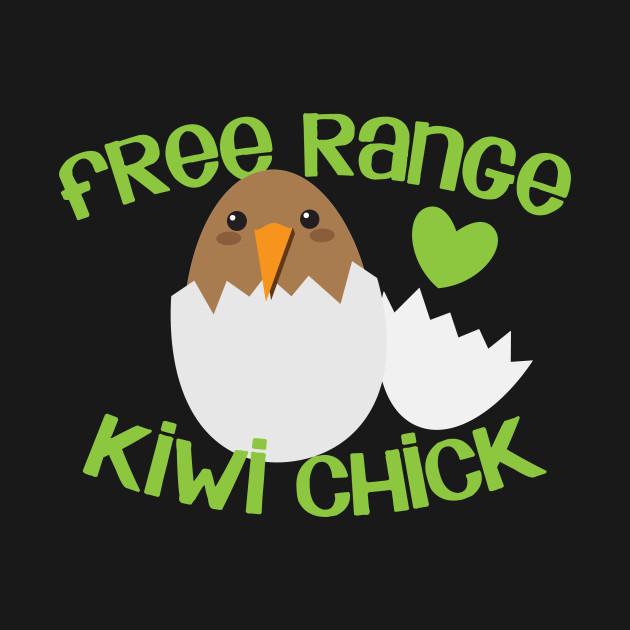 free range kiwi chick