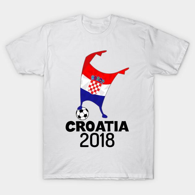 5e8daa2b4 Croatia Flag 2018 Football Cup Soccer Dabbing World Jersey - Croatia ...