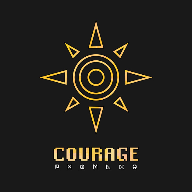Image result for digimon crest of courage