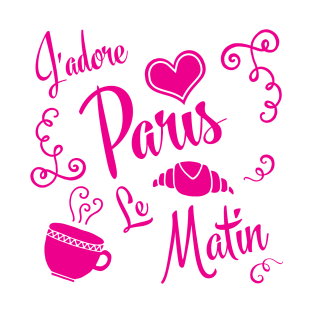 I Love Paris in the Morning t-shirts
