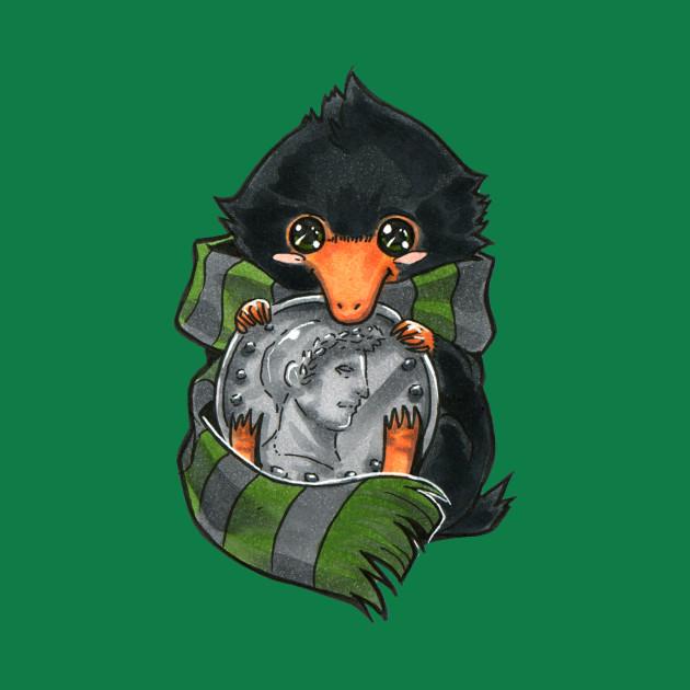 d995774e7 Slytherin Baby Niffler - Niffler - T-Shirt   TeePublic