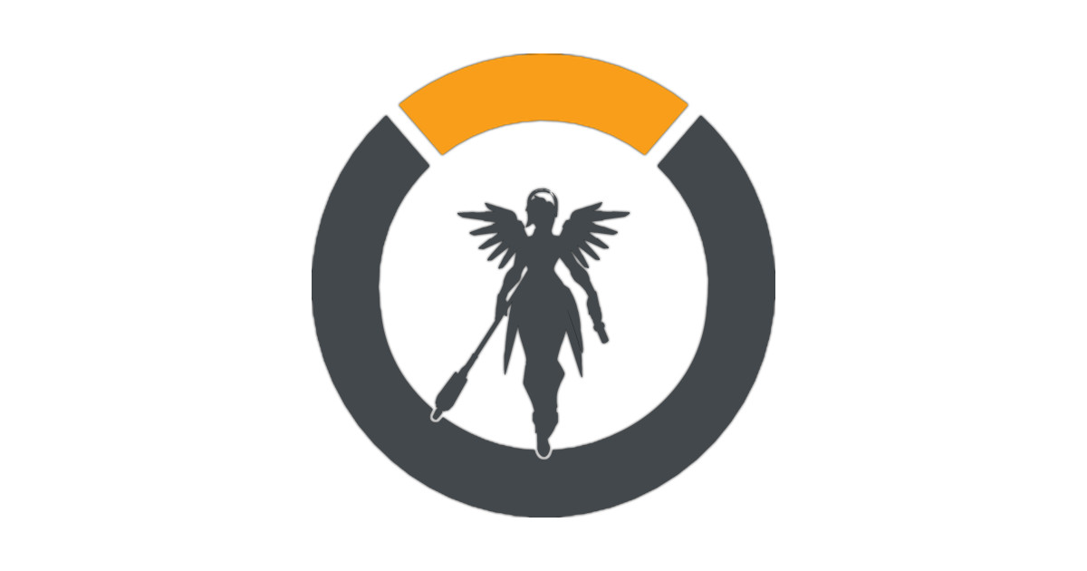 5bc260934 Overwatch Mercy Logo - Overwatch - Phone Case | TeePublic