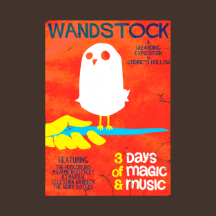 Wandstock t-shirts