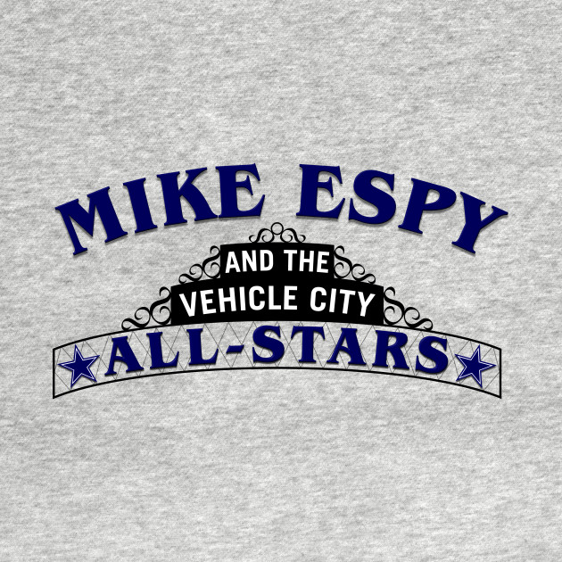 Mike Espy and the Vehicle City All-Stars (Dark Lettering)