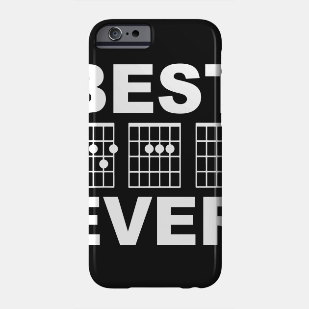 Best Dad Ever Guitar Chord - Guitarist - Phone Case | TeePublic