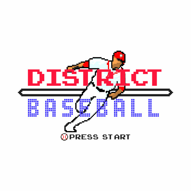 District Baseball - Retro