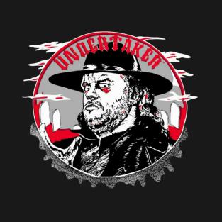 WWE Retro Undertaker 1992 t-shirts