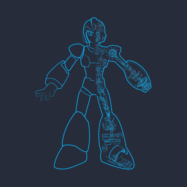 Mega Man X Schematic