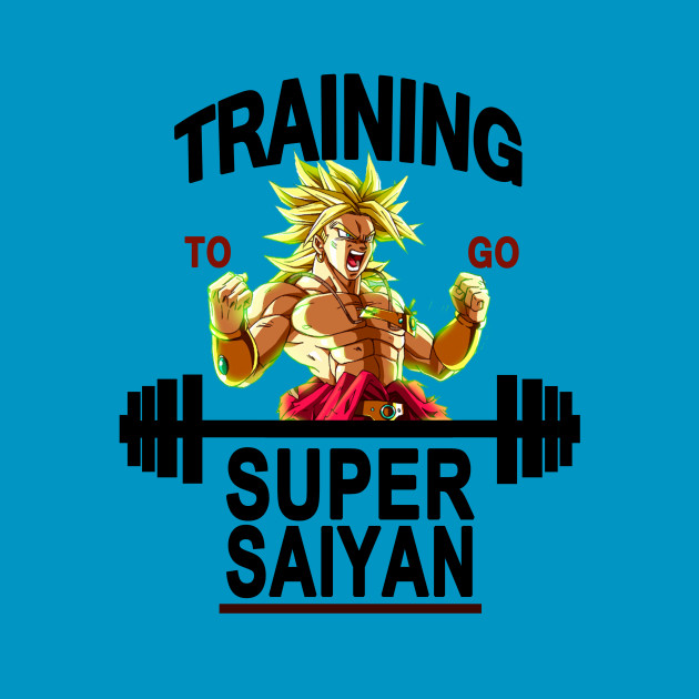Training to go super saiyan - Brolly
