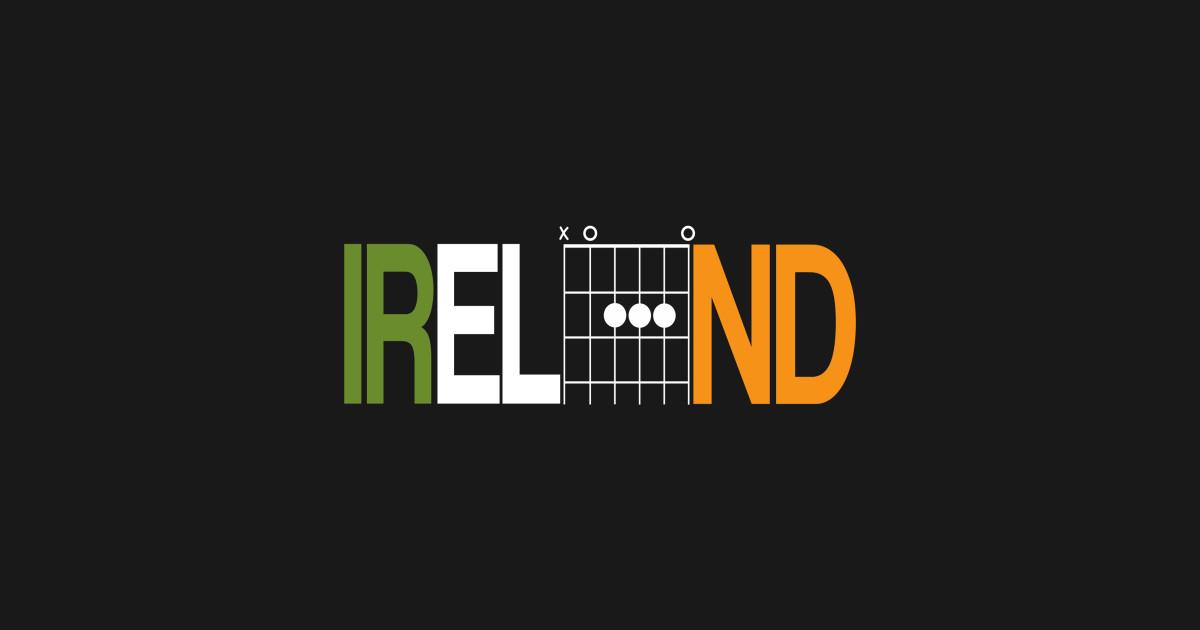 Ireland In Guitar Chords Guitar Chords Mug Teepublic
