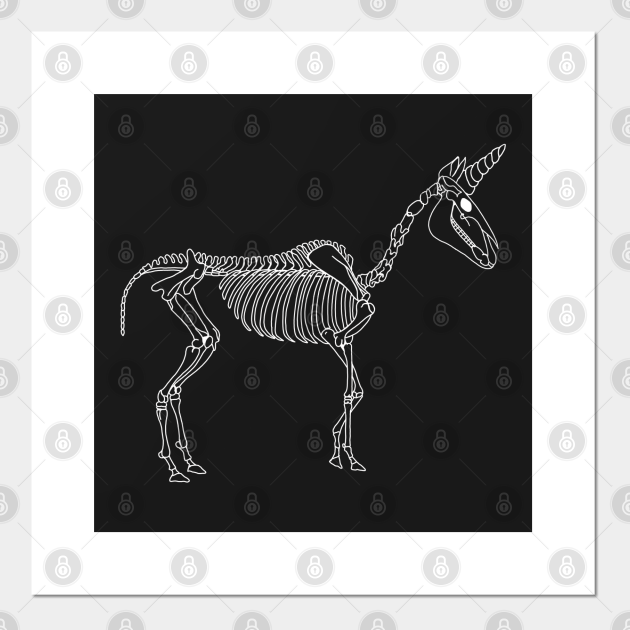 Spooky Unicorn (White)