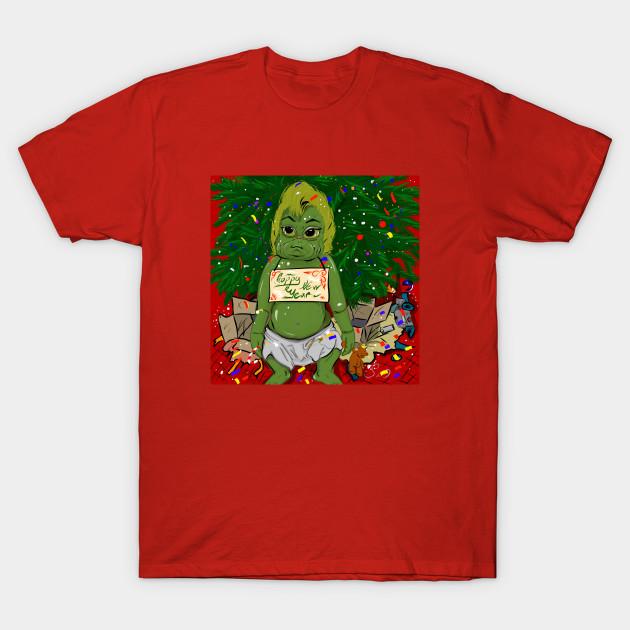 b0abe5443b3c06 Baby Grinch - Christmas Gifts - T-Shirt | TeePublic