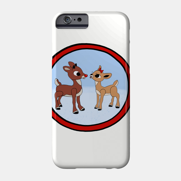 Rudolph The Red-Nosed Reindeer & Clarice Phone Case