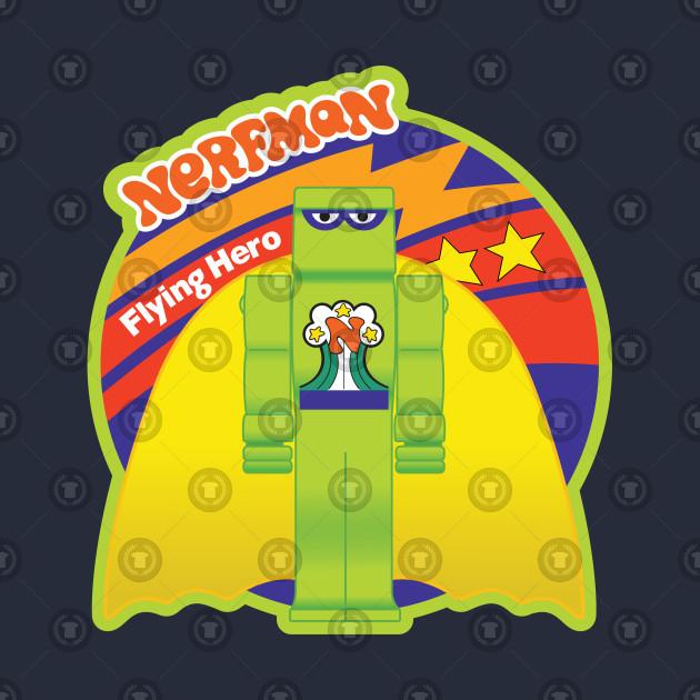 Nerfman Flying Hero