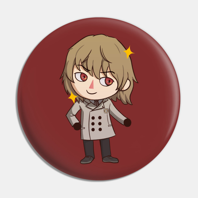 Goro Akechi Crossing (sparkles version)