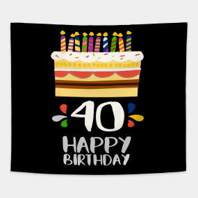 40th Birthday Gift Ideas For Her Tapestries