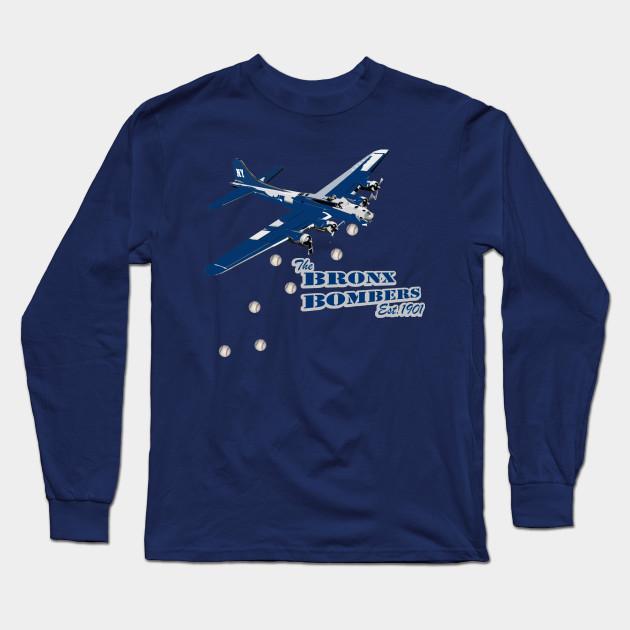 Bronx Bombers - Yankees - Long Sleeve T-Shirt  918f5eda194