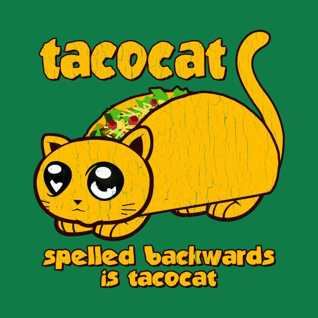 Funny - Tacocat (vintage distressed look)