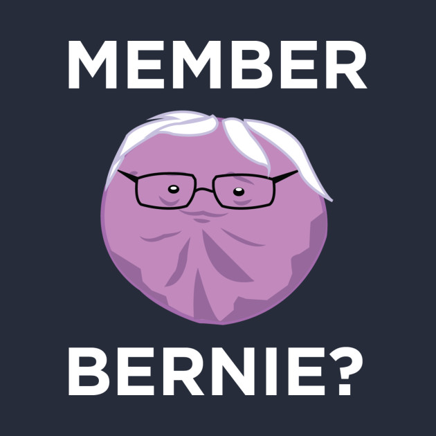 Member Bernie?