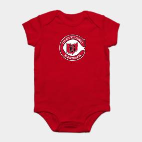 3fe4e82010c3f DEFUNCT - Cleveland Barons Hockey Onesie