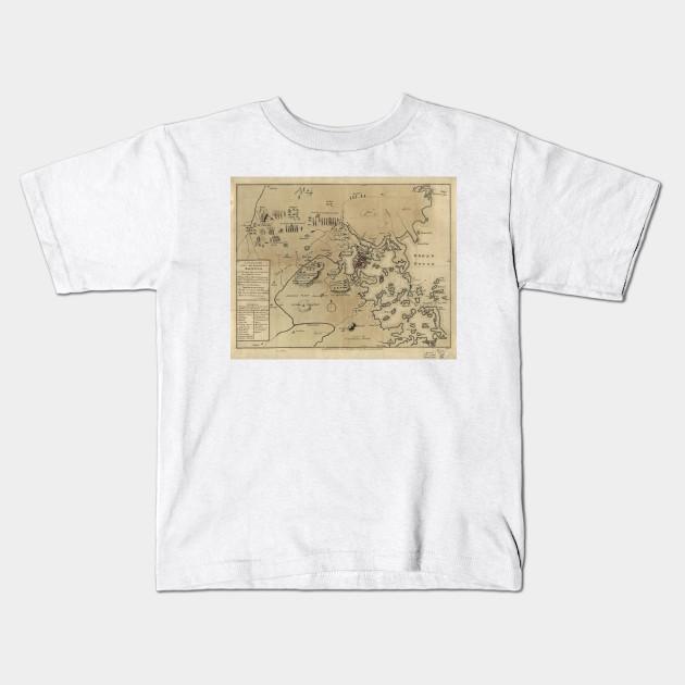 Vintage Boston Revolutionary War Map (1775) on map of boston streets during the revolution, map of boston rhode island, map of boston scotland, map of boston 1776, map of boston 17th century, map of boston during the boston massacre, map of boston art, map of boston united states, map of boston massachusetts, map of boston colonial, map of boston england, map of boston 1800s, map of boston cemeteries, map of revolutionary battles, map of patriot during american revolution victory,