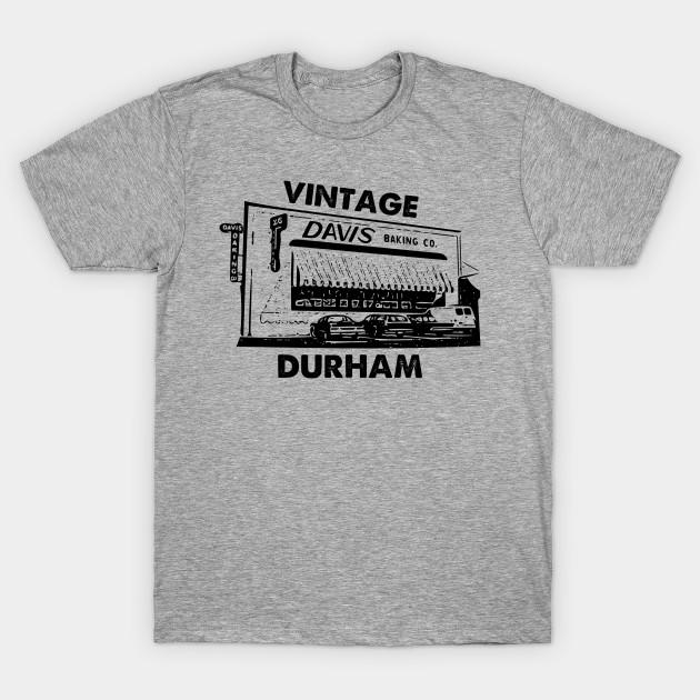 davis baking company vintage durham north carolina durham nc t shirt teepublic. Black Bedroom Furniture Sets. Home Design Ideas