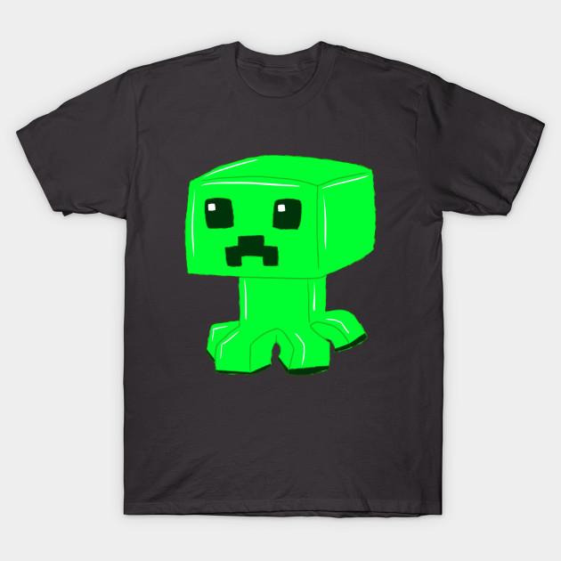 Minecraft Creeper Minecraft Creeper T Shirt Teepublic