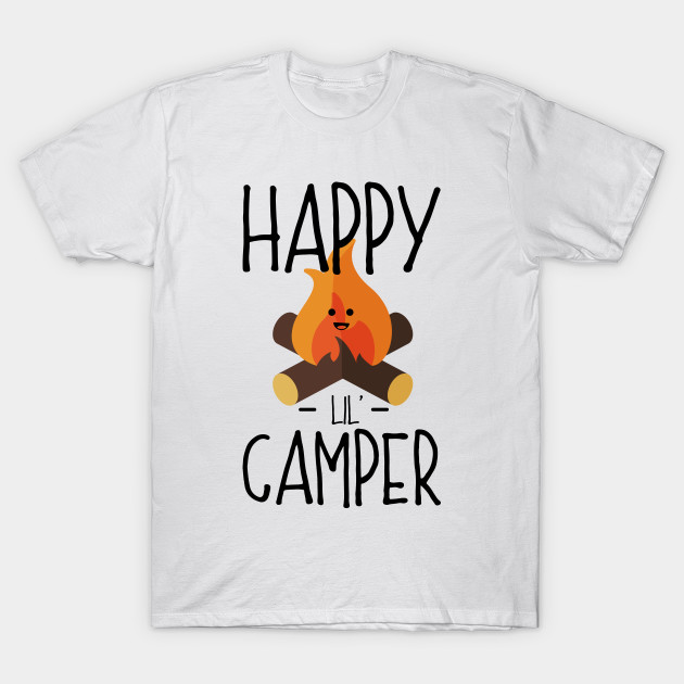Happy Lil (Little) Camper - Camping Campfire Cartoon ...
