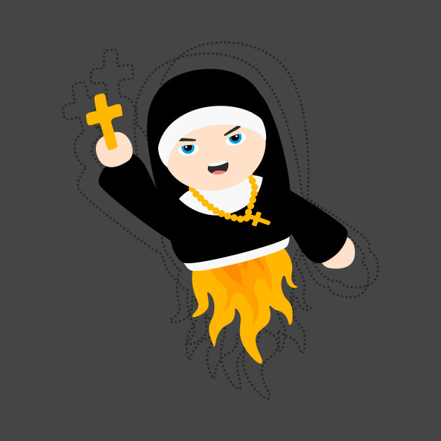 Nun with Superpowers!