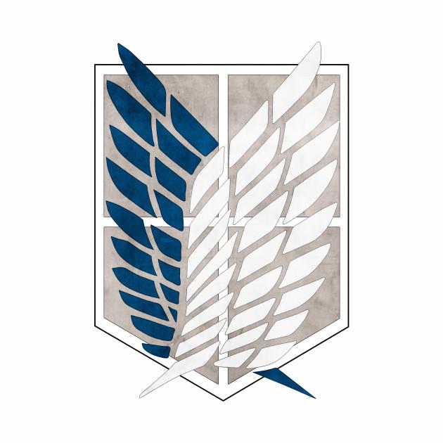 50+ Attack On Titan Survey Corps Symbol - friend quotes