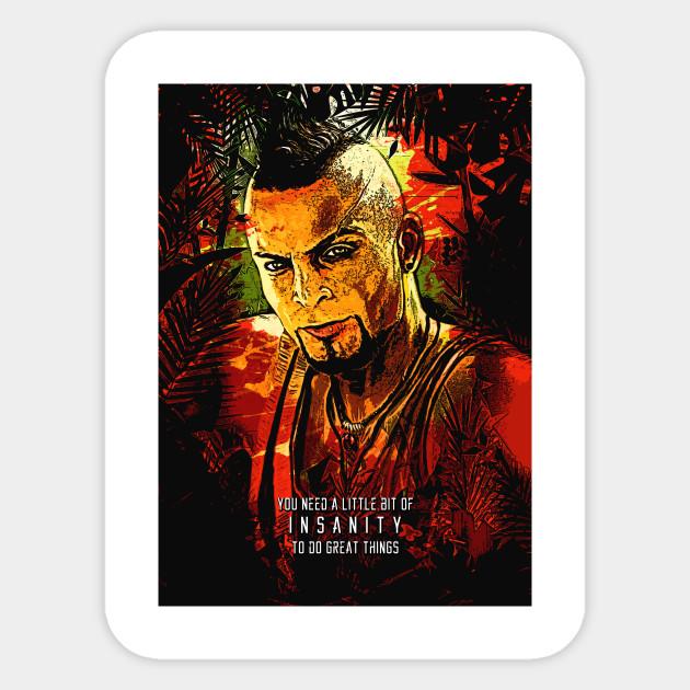 Far Cry 3 Insanity Vector Far Cry 3 Sticker Teepublic