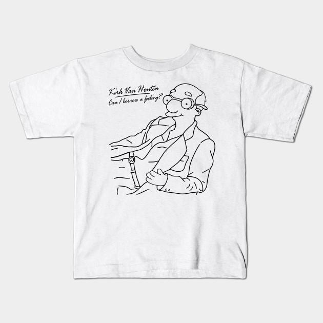 721c8f2c0 PT - Can I Borrow A Feeling - Outline - Simpsons - Kids T-Shirt ...