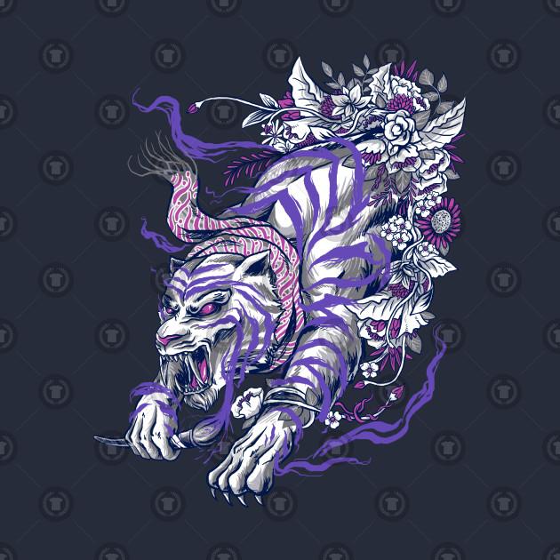 6afd055f75f6 batik tiger Kids T-Shirt. New!Back Print. batik tiger batik tiger