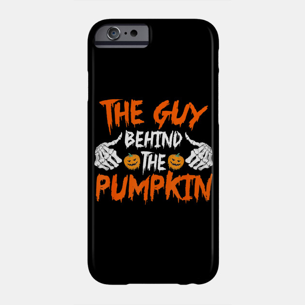 Halloween Pregnancy Guy Man Pumpkin Funny Party Gift Phone Case