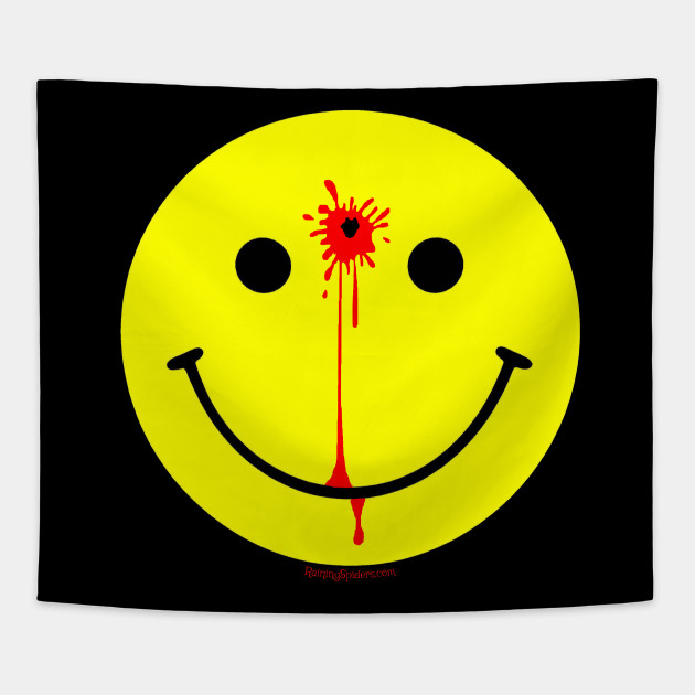 Smiley Face With A Bullet Hole Have A Nice Day Smiley Face