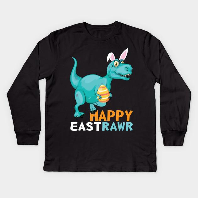 c641294a511 Easter Hockey Gift Bunny Goalie Mask T-Shirt Family Group Kids Long Sleeve T -Shirt