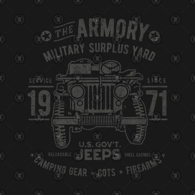 Vintage Jeep Surplus