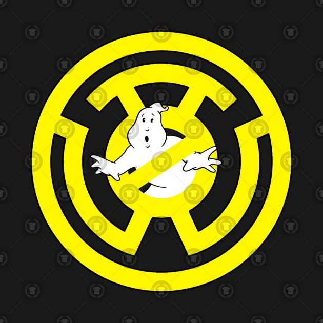 Sinestro Corps No Ghost Ghostbusters T Shirt Teepublic