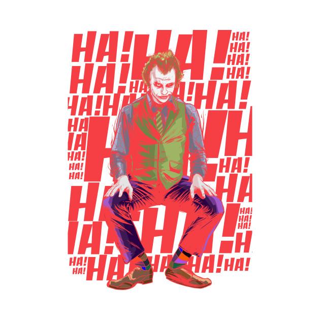 Joker ha! ha! ha!
