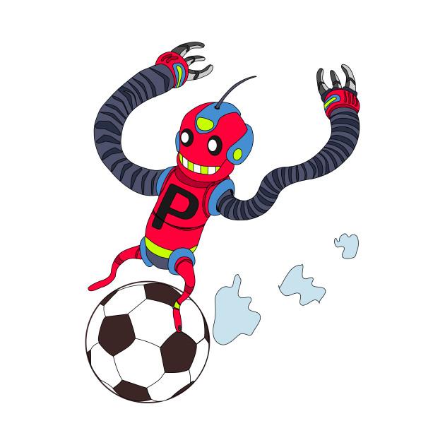 robot or soccer